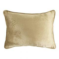 Half kussen fluweel goud 35x45cm