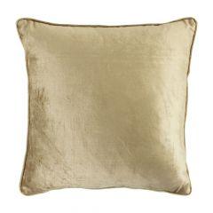 Kussen fluweel goud 45x45cm