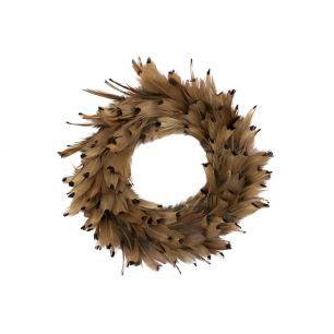Krans fazant natuur 15cm *