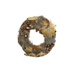 Krans fazant veren divers 15cm*