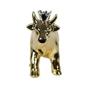 *spaarpot koe kroon goud*
