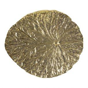 Goud deurknop blad