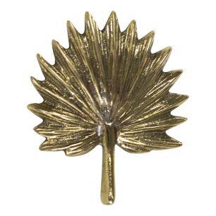 Goud deurknop palm