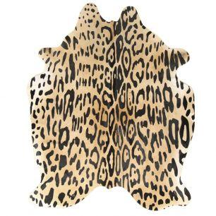 Vloerkleed koe jaguar print
