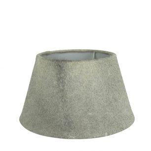Lampenkap koevel grijs 30cm*