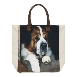 *canvas shopper st. bernard*