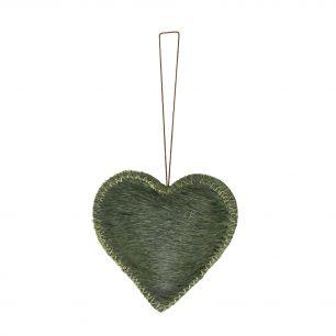 *hangdecoratie hart groen klein*