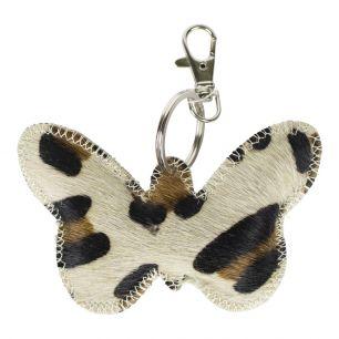 Sleutelhanger vlinder panter*