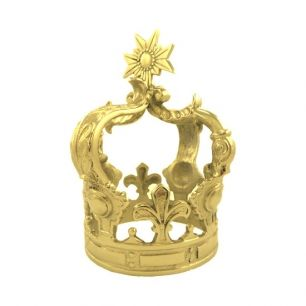 Kroon goud medium*