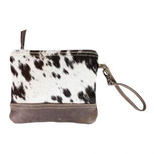 Make-up tas zwart koe*