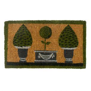 Kokosmat handgeweven 3 topiary