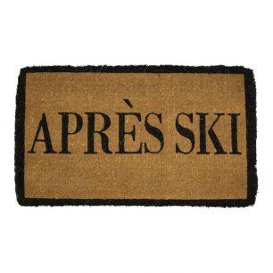 Kokosmat handgeweven apres ski