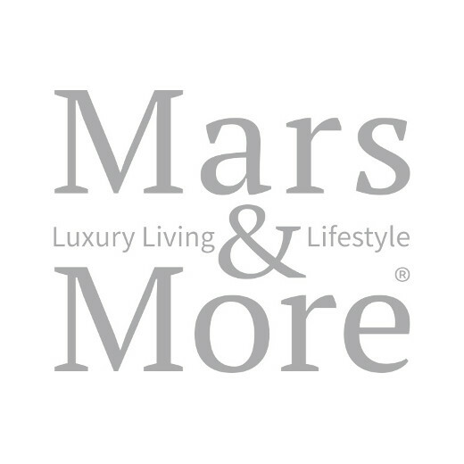 Onderzetter koe koevorm bruin/wit 11x10cm