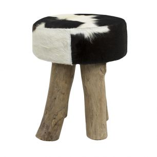 Kruk koe zwart rond