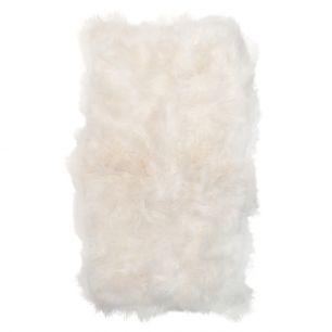 Kleed 4 ijslandse schapen wit 130x200cm