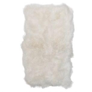 Kleed 6 ijslandse schapen wit 210x200cm