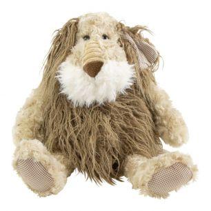 *knuffel hond beige 30cm*