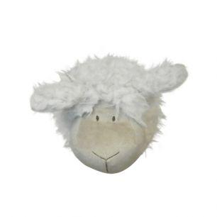 Knuffel schapenkop 14cm