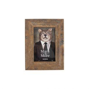 Fotolijst geprint hout natuur 10x15cm
