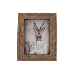 Fotolijst geprint hout natuur 15x20cm