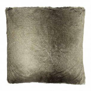 Kussen wolf winter grijs 45x45cm*